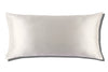 White 40x80 Zippered Pillowcase