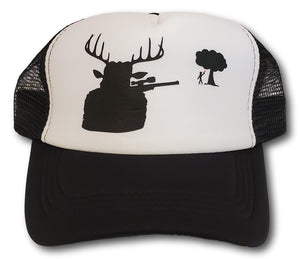 Lid Lube Deer Shooter Funny Trucker Hat | Assorted Colors