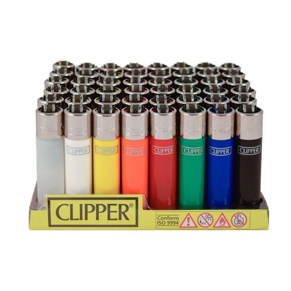 Clipper Refillable Lighter | Assorted Colors