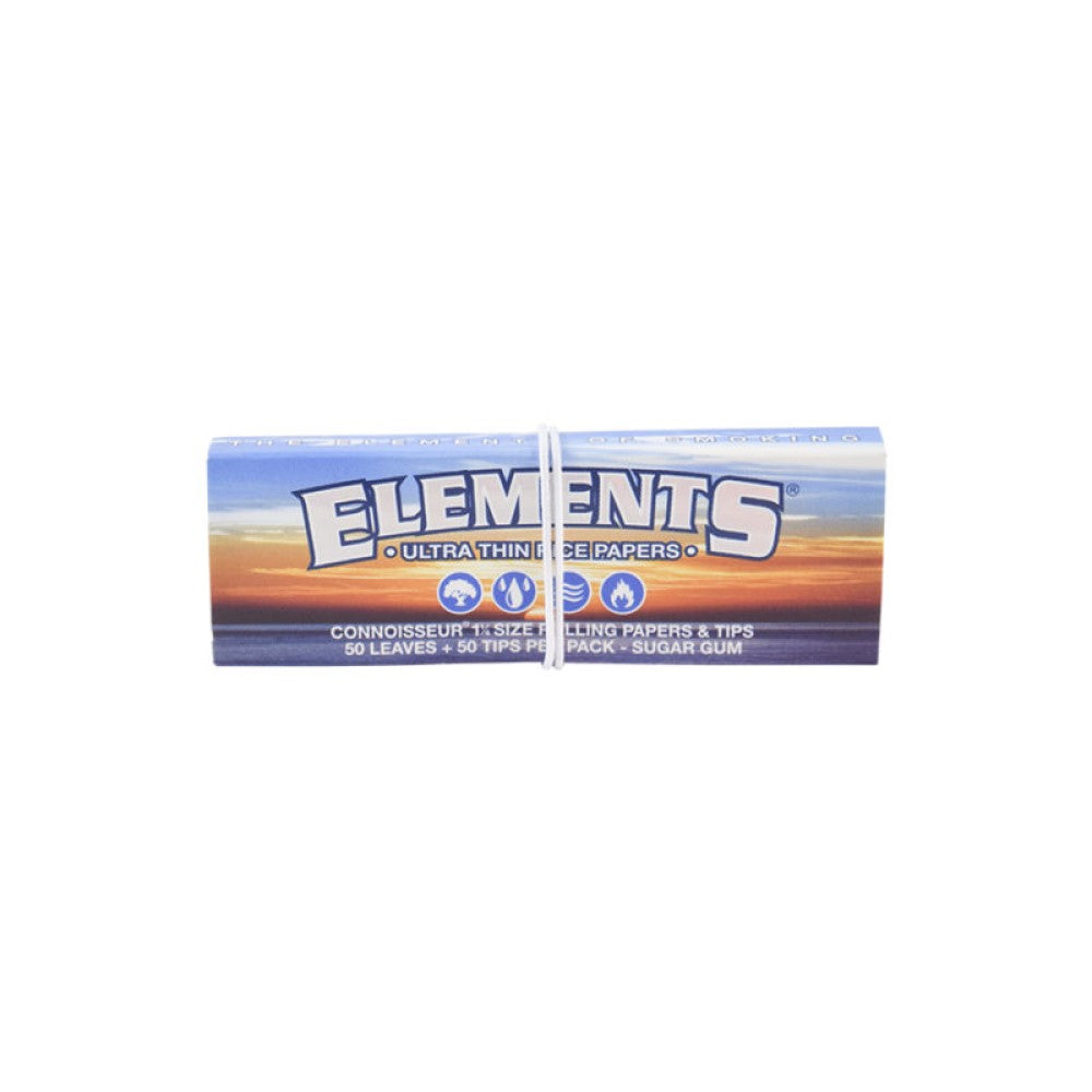 Elements Connoisseur 1¼ Pack with Tips