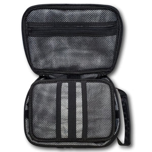 Lid Lube Smell Proof, Water-Resistant and Lockable Stash Bag Combo | Black