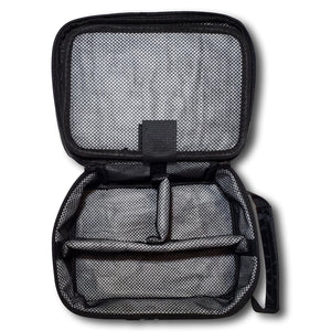 Lid Lube Smell proof Water-Resistant and Lockable Stash Bag | Black