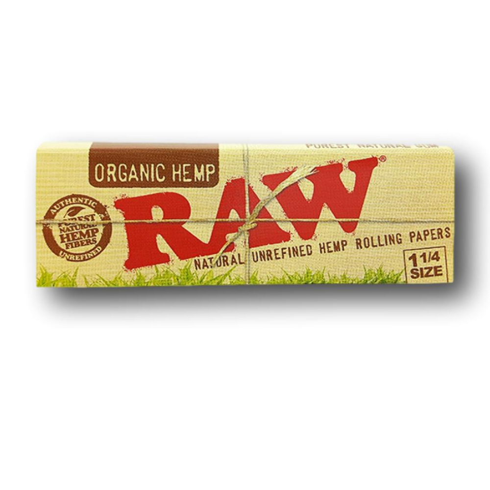 RAW Organic Hemp 1¼ Papers