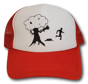Lid Lube Chainsaw Tree Trucker Hat | Assorted Colors