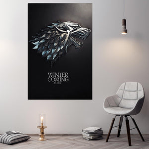 game of thrones logo - lo7ate لوحاتي