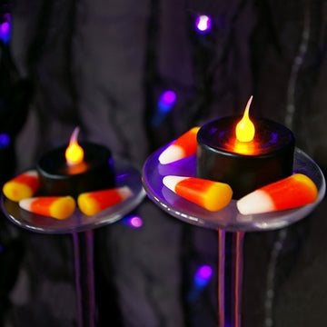 Flameless LED Candles for Halloween Decorating