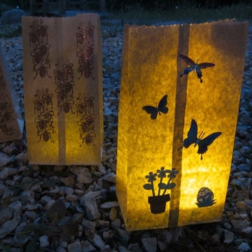 Flameless Luminaries Add Beauty to Your Holiday Decorating