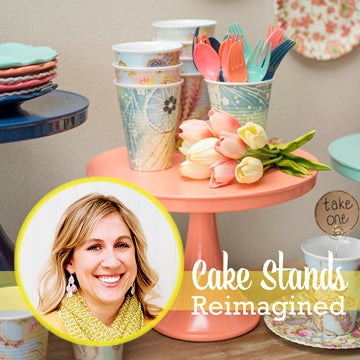 Sarah Designs: Cake Stands Reimagined