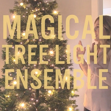 How to Create Christmas Magic with this Tree Light Ensemble!