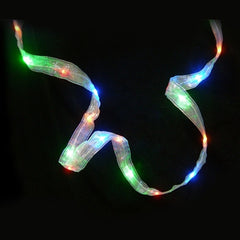 32 Multi-Color LED Ribbon Light, 9 feet, Battery Operated