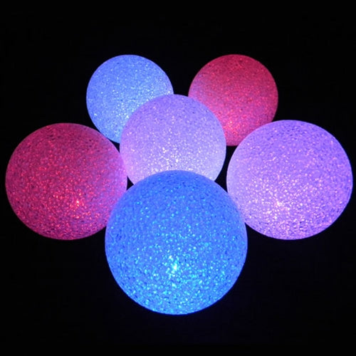 Sparkle Orb, Battery Operated Color Changing LED Light Ball, 5 Inch, Set of 6