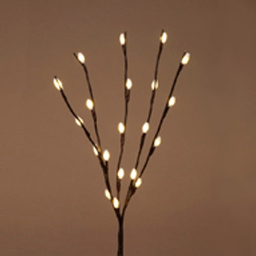 24 in. Lighted Willow Branches, 20 LED Lights, Battery Operated