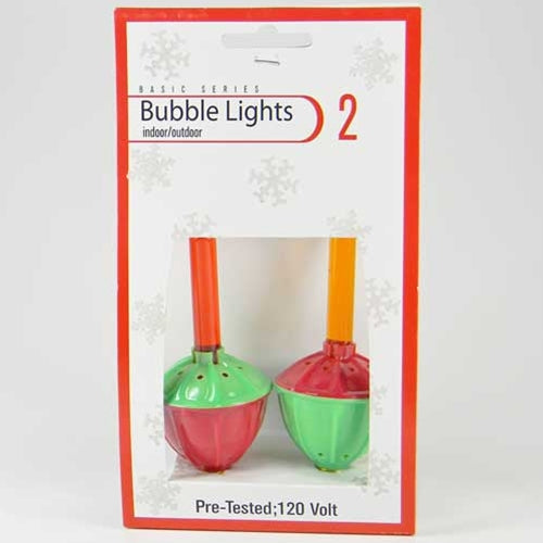 Replacement, Bubble Light Bulbs, 3 Pack, Multi Color Assorted