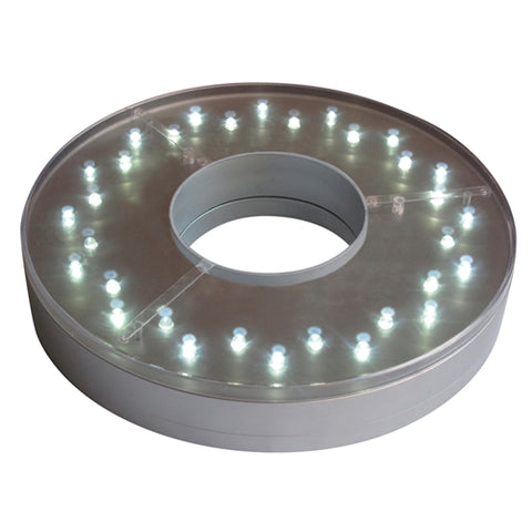 "E-Maxi LyteBase, 32 White LEDs, Battery, 6"" diameter, Remote Capable"