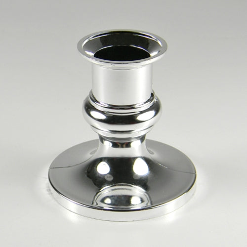 Acrylic Taper Candle Holder, 2.5 inches, SILVER