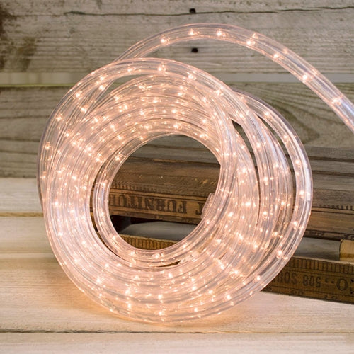 Rope Lights, Indoor or Outdoor, Plug-in, 18 feet, Warm White