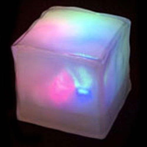 Deco Cube, Battery Operated LED Table Centerpiece Light, White-Color