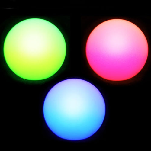 Light Up Ball, Glowing LED Orb, Floating, Multi-Color, 3 Inch, 5 Pk