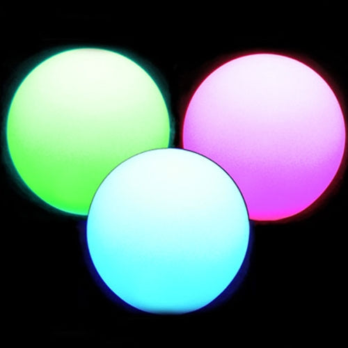 Light Up Ball, Glowing LED Orb, Floating, Remote, Multi-Color, 10 In