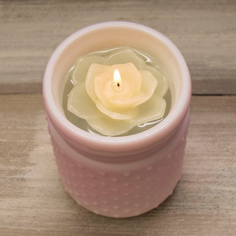 Floating Candle, Extra Long Wick, Event Pack of 36, 3 inch, White