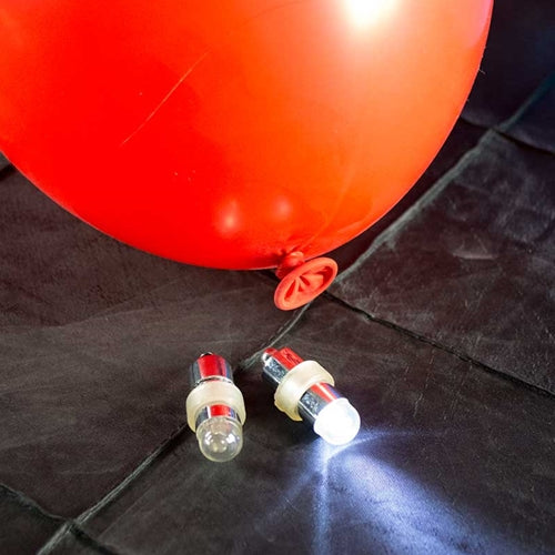 Balloon Lights, 2-Pack, Blinking, White