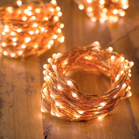 Lighted Branches, Bridal, 31 in., Warm White LEDs, Battery Op, White