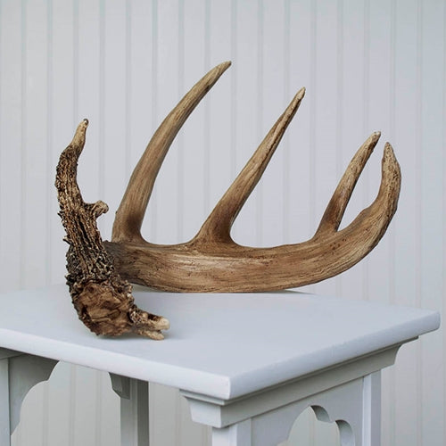Natural Deer Antler, Resin, Faux Deer Horn, 18 inches