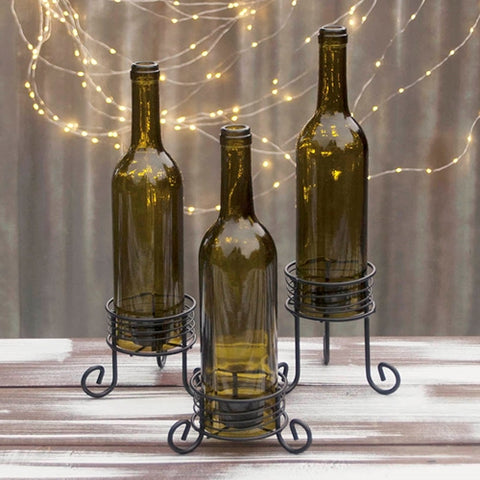 Suction Cup Candle Lamp Holders, 6 Pack (Candles Sold Separately)