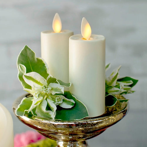 Luminara Votive Candle, Battery Op, Moving Flame, 3.25in, Ivory, 2 Pack