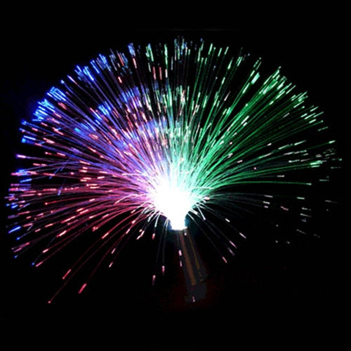 Fiber Optic Party Centerpiece, Color Changing RGB-Set of 6
