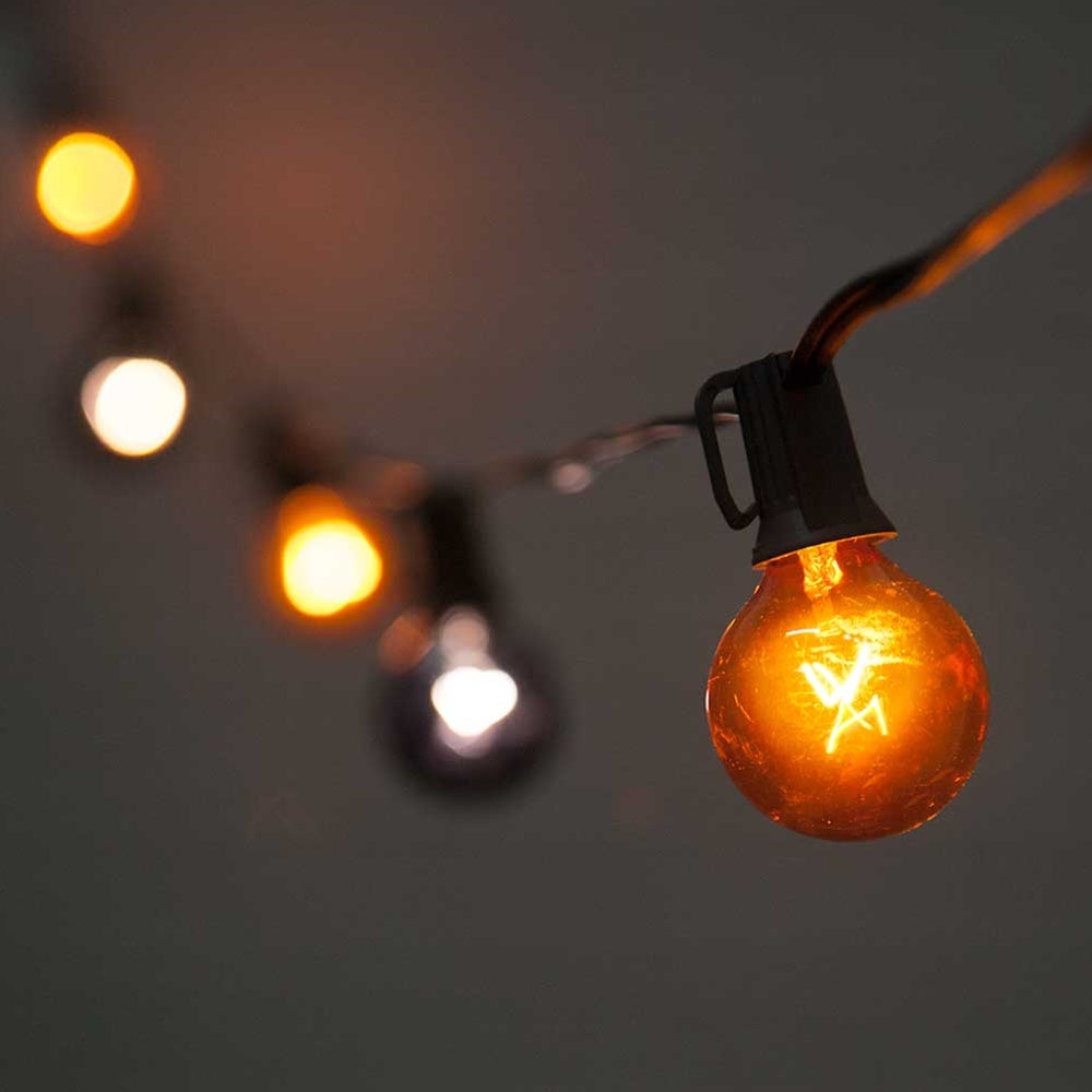 best service 8cc26 42aeb Buy Globe String Lights, Halloween, E12, Outdoor, 10 feet, Black & Orange  at Lights For All Occasions for only $13.95