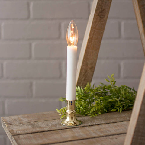 Electric Country Candle Lamp, 6'' Tall, Plug-in