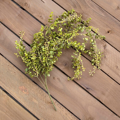 Eucalyptus Spray With Buds, Decorative Greenery, 33 inch, Green