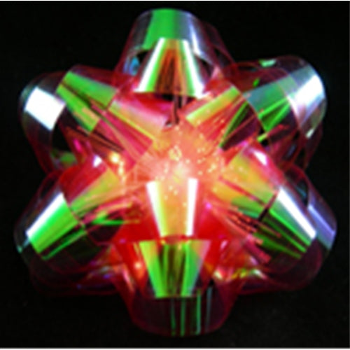 Gift Bow, LED Battery Operated, Color Changing, Pack of 12