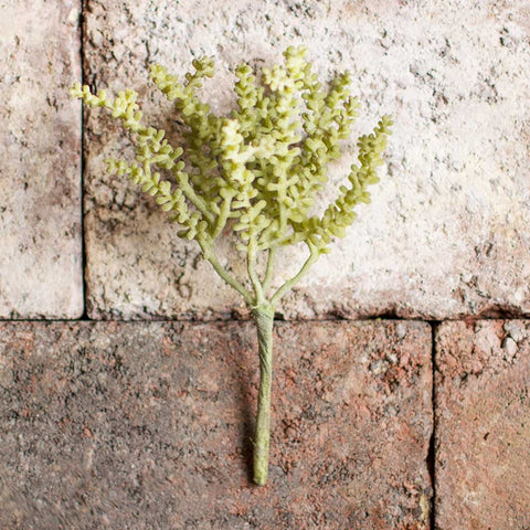Mini Wisteria Spray, Realistic Decorative, 36 in, Green