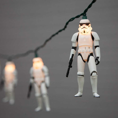 Star Wars Stormtrooper String Lights, Plug In, 11.5 ft, Warm White
