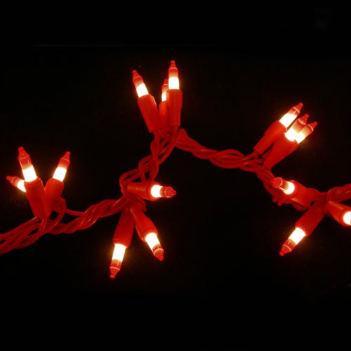 Peppermint Garland String Lights, 9 feet, Indoor-Outdoor