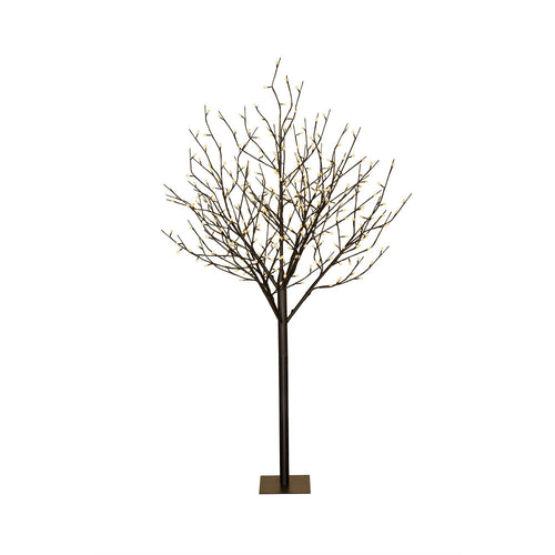 6 Foot Electric In/Outdoor Tree, 352 Warm White Lights Multifunction