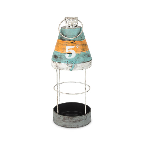 Metal Round No5 Buoy Hurricane Lantern