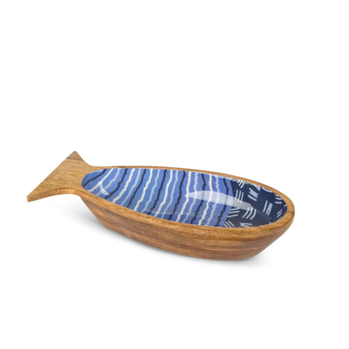 Mango Wood Fish Bowl