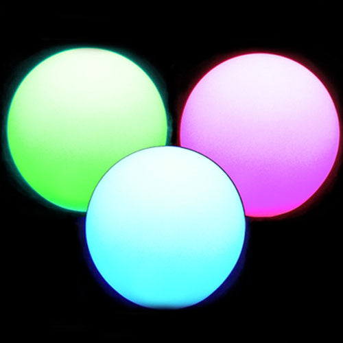 Light Up Ball, Glowing LED Orb, Multi-Function, Multi-Color, 8 inch