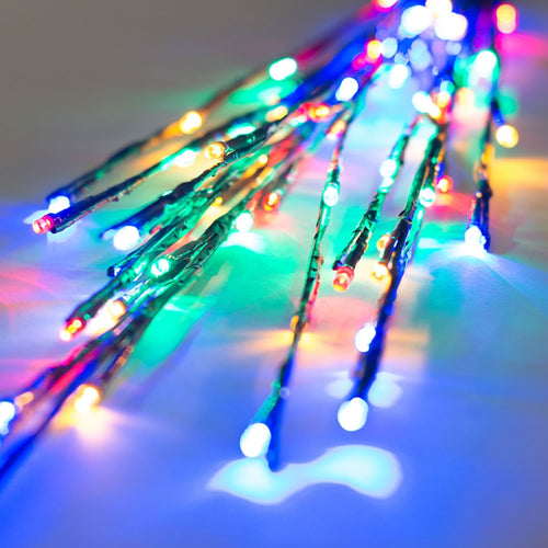 Lighted Brown Branches, 36 in. LED, Electric, Outdoor, Multicolor