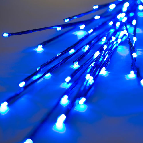 Lighted Brown Branches, 36 in. LED, Electric, Outdoor, Blue