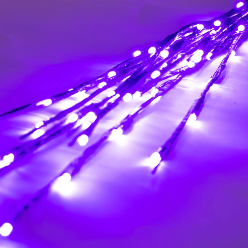 Lighted Brown Branches, 36 in. LED, Electric, Outdoor, Purple
