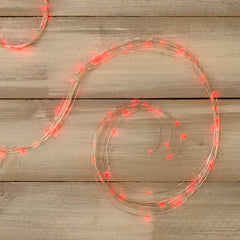 Fairy Lights, 10 Strand Spray, 120 LEDs, 6ft, Multifunction, Red