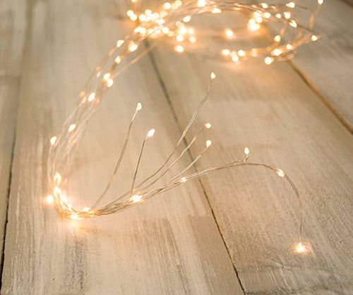 Fairy Lights, 6 strand Spray, 180 LEDs, 9 ft, Cool White