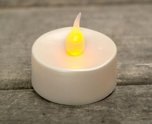 Tea Light Candles with LED Flickering Flame