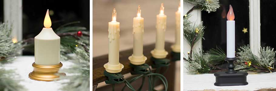 Electric Christmas Candles.Shop For Christmas Candles At Lights For All Occasions
