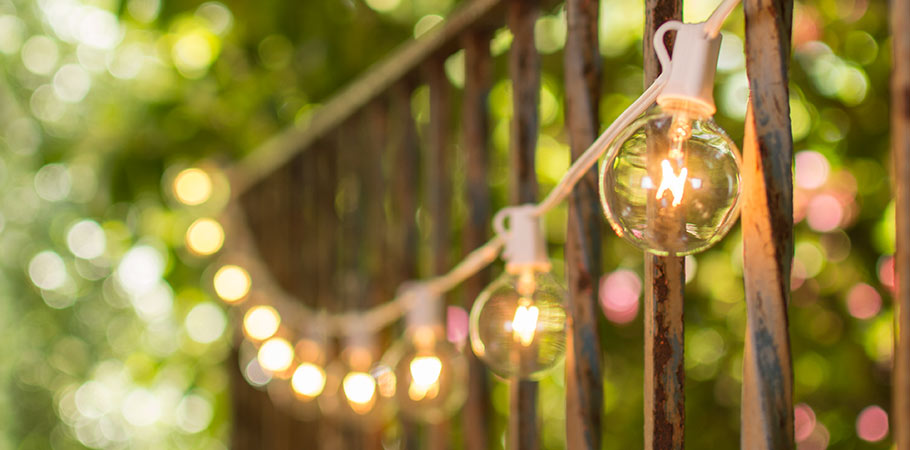 Patio String Lights for Outdoor Entertaining