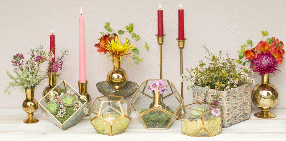 Taper & Stick Candle Holders
